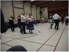 Other Round Dancers at Joint March dance